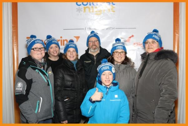 Groupe Lounsbury Group at Coldest Night of the Year 2019